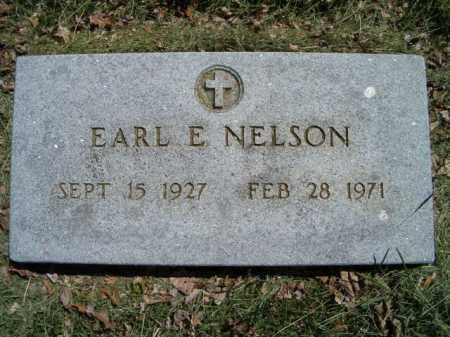 NELSON, EARL E. - Saunders County, Nebraska | EARL E. NELSON - Nebraska Gravestone Photos
