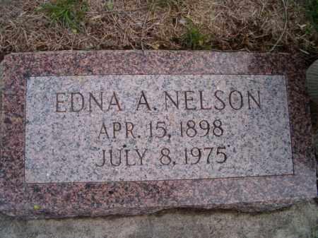 NELSON, EDNA A. - Saunders County, Nebraska | EDNA A. NELSON - Nebraska Gravestone Photos