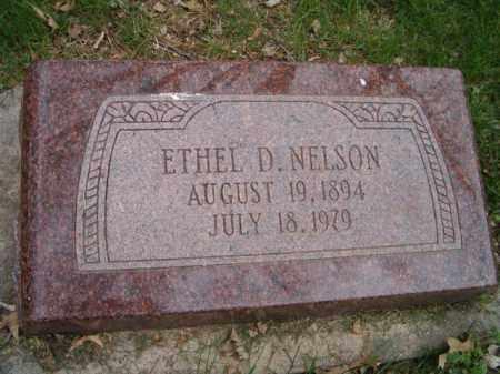 NELSON, ETHEL D. - Saunders County, Nebraska | ETHEL D. NELSON - Nebraska Gravestone Photos