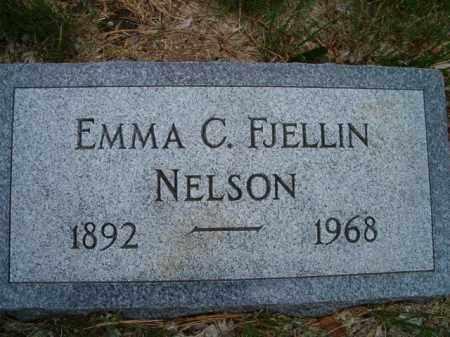 NELSON, EMMA C. - Saunders County, Nebraska | EMMA C. NELSON - Nebraska Gravestone Photos