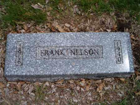 NELSON, FRANK - Saunders County, Nebraska | FRANK NELSON - Nebraska Gravestone Photos