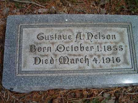 NELSON, GUSTAVE A. - Saunders County, Nebraska | GUSTAVE A. NELSON - Nebraska Gravestone Photos