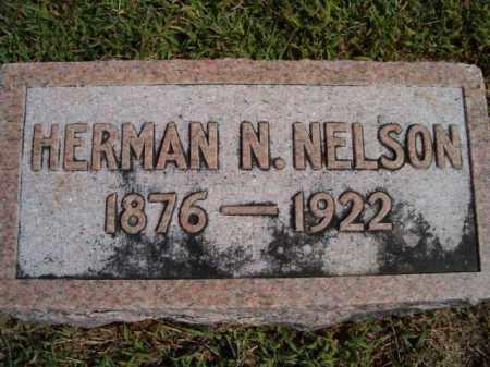 NELSON, HERMAN N. - Saunders County, Nebraska | HERMAN N. NELSON - Nebraska Gravestone Photos