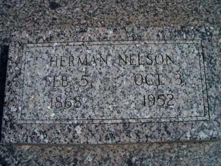 NELSON, HERMAN - Saunders County, Nebraska | HERMAN NELSON - Nebraska Gravestone Photos