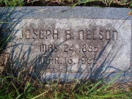 NELSON, JOSEPH A - Saunders County, Nebraska | JOSEPH A NELSON - Nebraska Gravestone Photos
