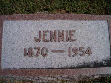 NELSON, JENNIE - Saunders County, Nebraska | JENNIE NELSON - Nebraska Gravestone Photos