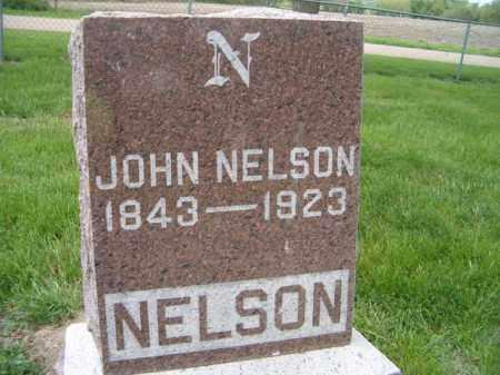 NELSON, JOHN - Saunders County, Nebraska | JOHN NELSON - Nebraska Gravestone Photos