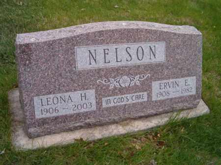 NELSON, ERVIN E. - Saunders County, Nebraska | ERVIN E. NELSON - Nebraska Gravestone Photos