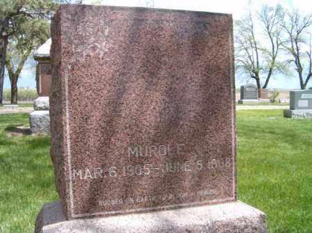 NELSON, MURDLE - Saunders County, Nebraska   MURDLE NELSON - Nebraska Gravestone Photos