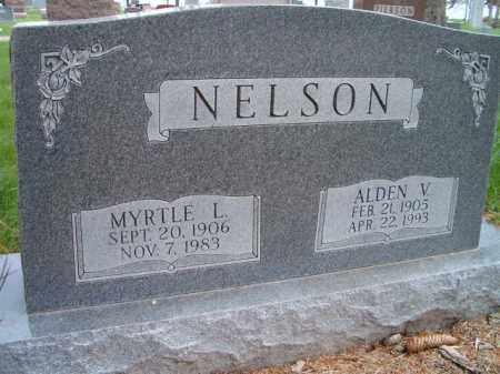 NELSON, ALDEN V. - Saunders County, Nebraska | ALDEN V. NELSON - Nebraska Gravestone Photos