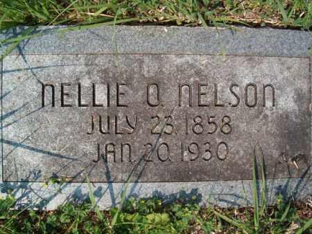 NELSON, NELLIE O - Saunders County, Nebraska | NELLIE O NELSON - Nebraska Gravestone Photos