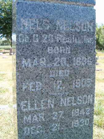 NELSON, ELLEN - Saunders County, Nebraska   ELLEN NELSON - Nebraska Gravestone Photos
