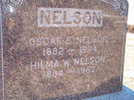 NELSON, HILMA W - Saunders County, Nebraska | HILMA W NELSON - Nebraska Gravestone Photos
