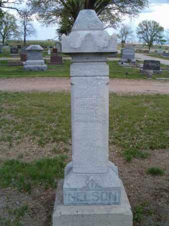 NELSON, PETER S. - Saunders County, Nebraska | PETER S. NELSON - Nebraska Gravestone Photos