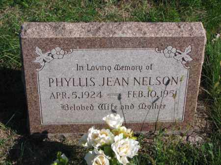 NELSON, PHYLLIS JEAN - Saunders County, Nebraska | PHYLLIS JEAN NELSON - Nebraska Gravestone Photos