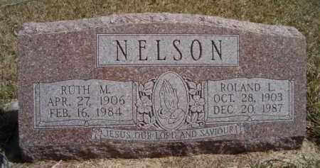 NELSON, ROLAND L - Saunders County, Nebraska | ROLAND L NELSON - Nebraska Gravestone Photos