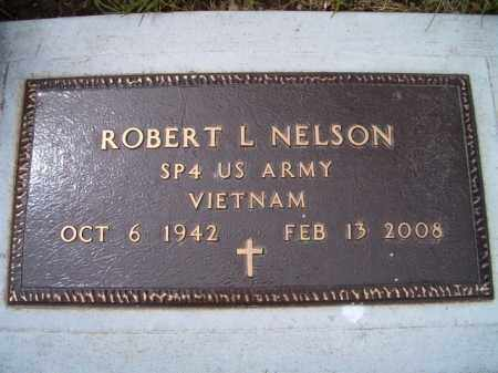 NELSON, ROBERT L. (MILITARY MARKER) - Saunders County, Nebraska   ROBERT L. (MILITARY MARKER) NELSON - Nebraska Gravestone Photos