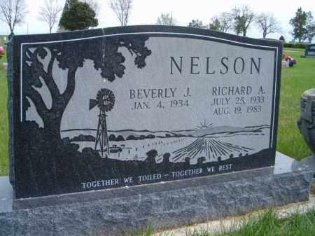 NELSON, RICHARD A. - Saunders County, Nebraska | RICHARD A. NELSON - Nebraska Gravestone Photos
