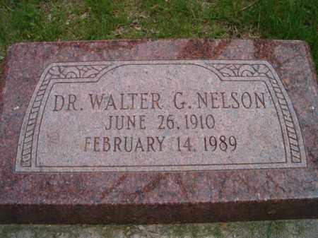 NELSON, WALTER G. DR. - Saunders County, Nebraska   WALTER G. DR. NELSON - Nebraska Gravestone Photos