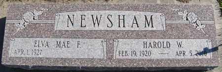 NEWSHAM, HAROLD - Saunders County, Nebraska | HAROLD NEWSHAM - Nebraska Gravestone Photos