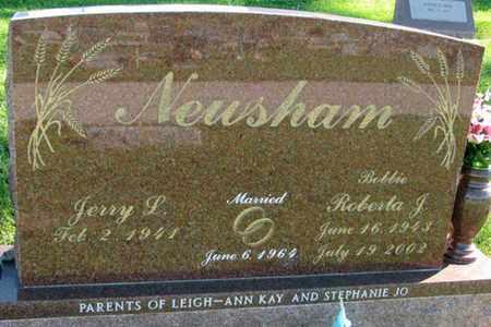 "NEWSHAM, ROBERTS J ""BOBBIE"" - Saunders County, Nebraska   ROBERTS J ""BOBBIE"" NEWSHAM - Nebraska Gravestone Photos"