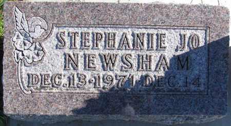 NEWSHAM, STEPHANIE JO - Saunders County, Nebraska | STEPHANIE JO NEWSHAM - Nebraska Gravestone Photos