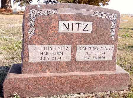 NITZ, JOSEPHINE M - Saunders County, Nebraska | JOSEPHINE M NITZ - Nebraska Gravestone Photos