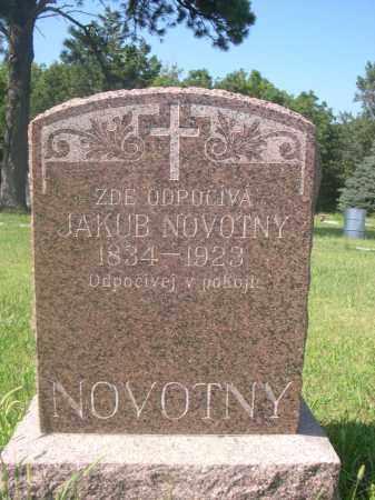 NOVOTNY, JAKUB - Saunders County, Nebraska | JAKUB NOVOTNY - Nebraska Gravestone Photos