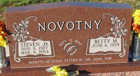 NOVOTNY, BETTY M. - Saunders County, Nebraska | BETTY M. NOVOTNY - Nebraska Gravestone Photos