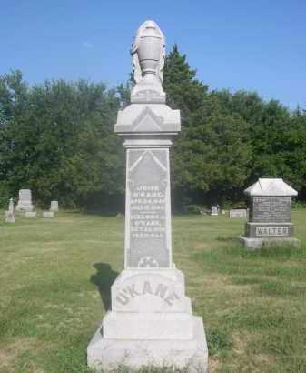 O'KANE, ICELONA J. - Saunders County, Nebraska   ICELONA J. O'KANE - Nebraska Gravestone Photos