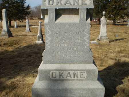 OKANE, JOHN W - Saunders County, Nebraska | JOHN W OKANE - Nebraska Gravestone Photos