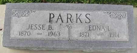 PARKS, EDNA L. - Saunders County, Nebraska | EDNA L. PARKS - Nebraska Gravestone Photos