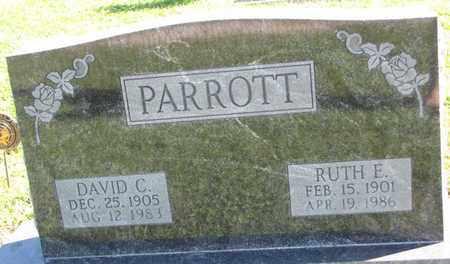 PARROTT, RUTH E. - Saunders County, Nebraska | RUTH E. PARROTT - Nebraska Gravestone Photos