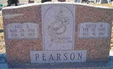 PEARSON, HATTIE M - Saunders County, Nebraska | HATTIE M PEARSON - Nebraska Gravestone Photos