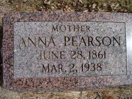 PEARSON, ANNA - Saunders County, Nebraska   ANNA PEARSON - Nebraska Gravestone Photos