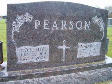 PEARSON, MALVIN C. - Saunders County, Nebraska | MALVIN C. PEARSON - Nebraska Gravestone Photos