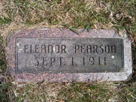PEARSON, ELEANOR - Saunders County, Nebraska | ELEANOR PEARSON - Nebraska Gravestone Photos