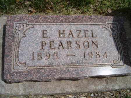 PEARSON, E. HAZEL - Saunders County, Nebraska   E. HAZEL PEARSON - Nebraska Gravestone Photos