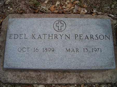 PEARSON, EDEL KATHRYN - Saunders County, Nebraska | EDEL KATHRYN PEARSON - Nebraska Gravestone Photos