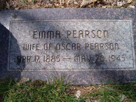 PEARSON, EMMA - Saunders County, Nebraska   EMMA PEARSON - Nebraska Gravestone Photos