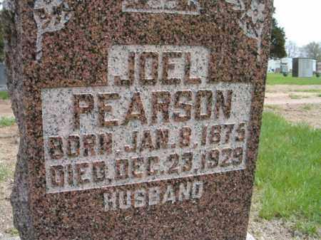 PEARSON, JOEL - Saunders County, Nebraska   JOEL PEARSON - Nebraska Gravestone Photos