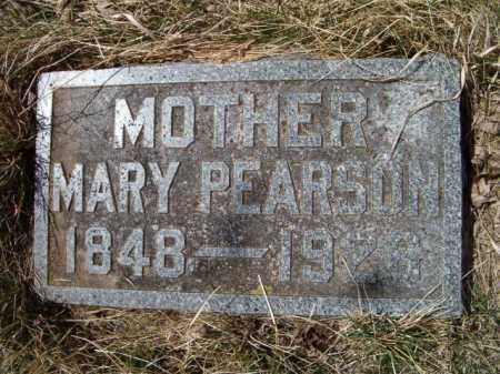 PEARSON, MARY - Saunders County, Nebraska | MARY PEARSON - Nebraska Gravestone Photos