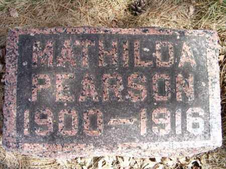 PEARSON, MATHILDA - Saunders County, Nebraska | MATHILDA PEARSON - Nebraska Gravestone Photos