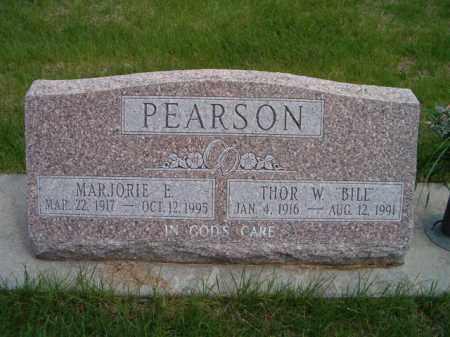 PEARSON, MARJORIE E. - Saunders County, Nebraska | MARJORIE E. PEARSON - Nebraska Gravestone Photos