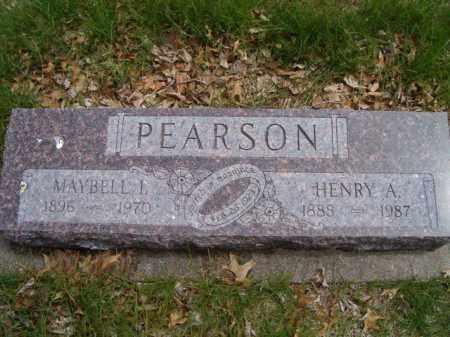 PEARSON, MAYBELL I. - Saunders County, Nebraska | MAYBELL I. PEARSON - Nebraska Gravestone Photos