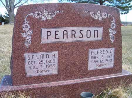 PEARSON, ALFRED O - Saunders County, Nebraska | ALFRED O PEARSON - Nebraska Gravestone Photos