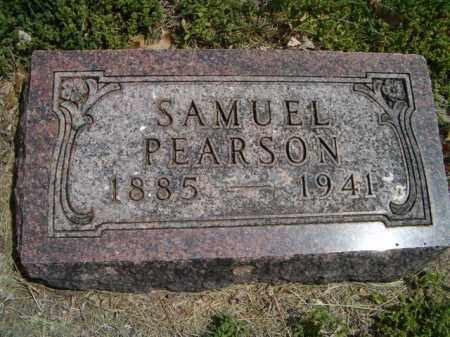 PEARSON, SAMUEL - Saunders County, Nebraska | SAMUEL PEARSON - Nebraska Gravestone Photos