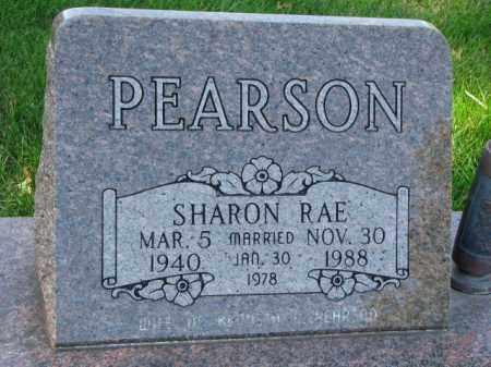 PEARSON, SHARON RAE - Saunders County, Nebraska | SHARON RAE PEARSON - Nebraska Gravestone Photos
