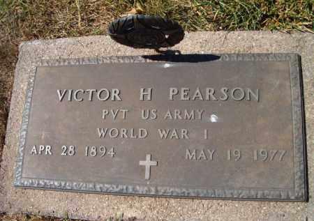 PEARSON, VICTOR HILDING (MILITARY MARKER) - Saunders County, Nebraska   VICTOR HILDING (MILITARY MARKER) PEARSON - Nebraska Gravestone Photos