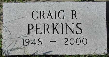 PERKINS, CRAIG R. - Saunders County, Nebraska | CRAIG R. PERKINS - Nebraska Gravestone Photos